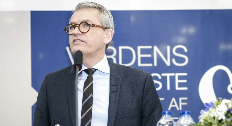 Anders Hedegaard, adm. direktør for GN Hearing.