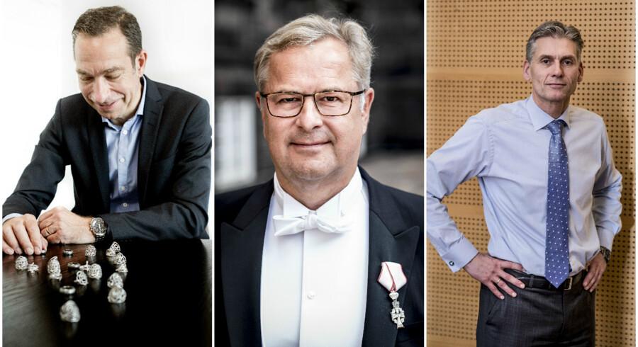 Anders Colding Friis, Søren Skov og Thomas F. Borgen