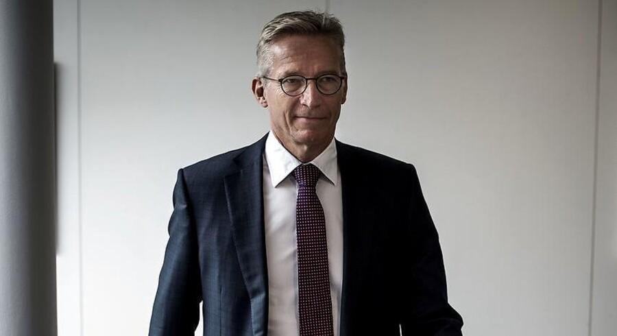 CEO i Coloplast, Lars Rasmussen, fotograferet i virksomhedens lokaler i Humlebæk.