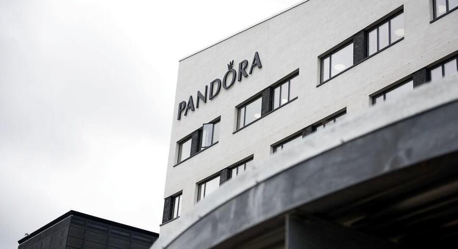 (ARKIV) Pandoras hovedkvarter på Havneholmen. (Foto: Liselotte Sabroe/Scanpix 2018)