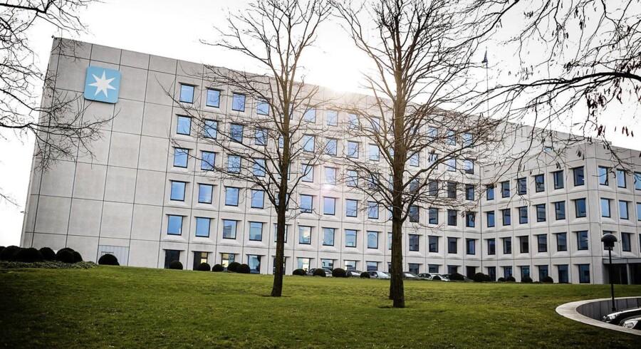 A. P. Møller-Mærsk hovedkvarter på Esplanaden i København.