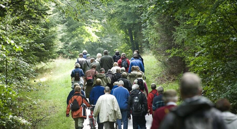 Parkens formål er at genoprette naturen, men parken gør ingen forskel, mener Danmarks Naturfredningsforening.