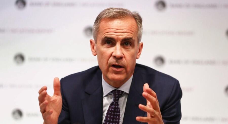 Centralbankchefs brexit-kommentar skubber pundet endnu lavere