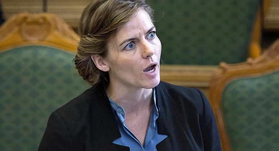 Sundhedsminister Ellen Trane Nørby (V) ønsker med den skærpede indsats at opdage flere tilfælde af livmoderhalskræft tidligere. Keld Navntoft/arkiv/Ritzau Scanpix