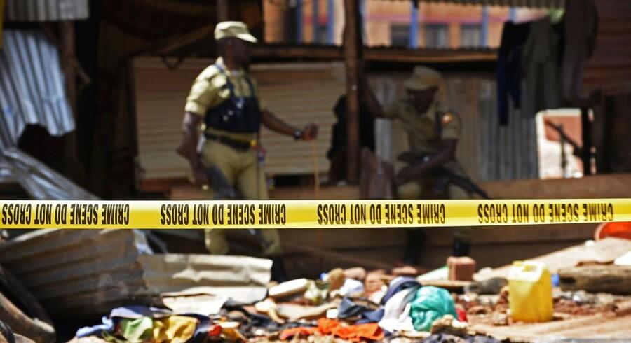 Arkivfoto: 48 dræbte i Uganda.