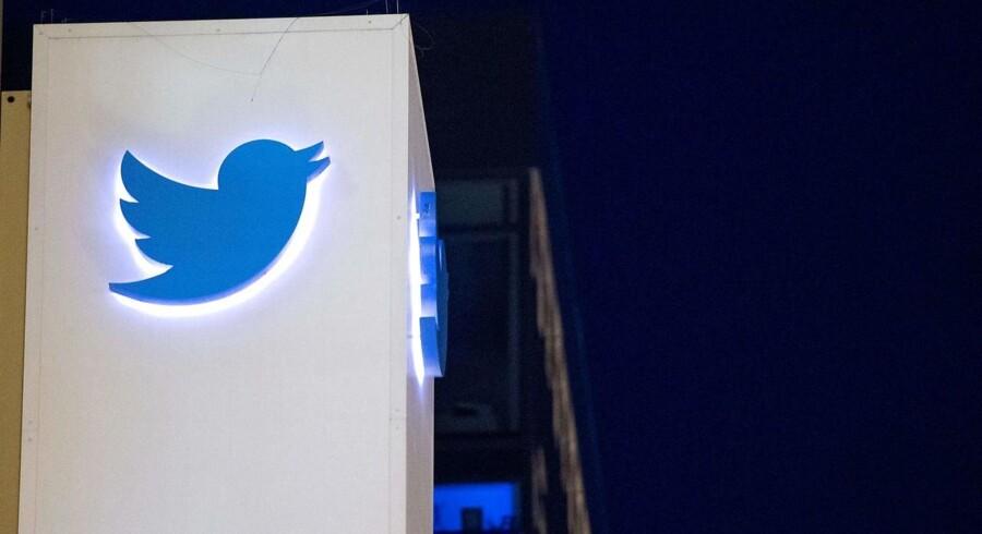 Twitters hovedkvarter i San Francisco. AFP PHOTO / JOSH EDELSON