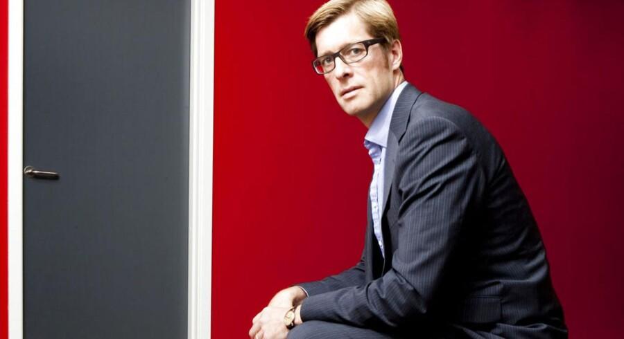 Peter Korsholm ledende partner for kapitalfonden EQT.