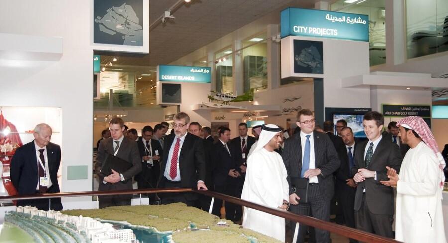 Kronprins Fredrik på officielt besøg den 15.-21. januar i Saudi Arabien, Qatar og De Forenede Arabiske Emirater til åbningen af World Future Energy Summit and Exhibition i Abu Dhabi, som har udviklet sig til en international platform for leverandører af en række miljøteknologiske løsninger med et særligt fokus på teknologier som modsvar på klimaudfordringen.