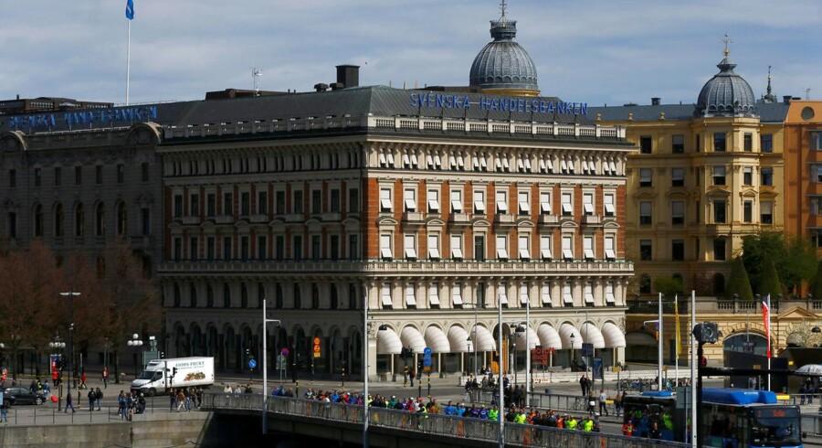 Arkivfoto af svenske Handelsbanken.