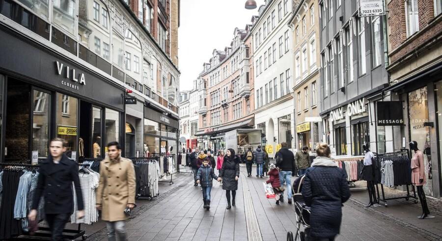 De danske bankers samlede udlån til husholdninger og virksomheder har i de senere år været faldende, når det gøres op i forhold til bruttonationalproduktet (BNP) - og denne tendens fortsætter, skriver interesseorganisationen Finans Danmark.