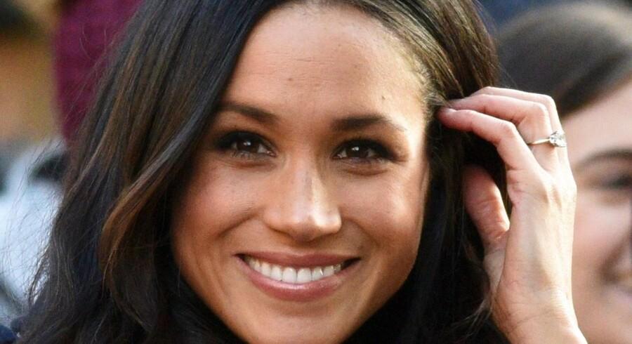 Meghan Markle skal giftes med den engelske prins Harry lørdag.