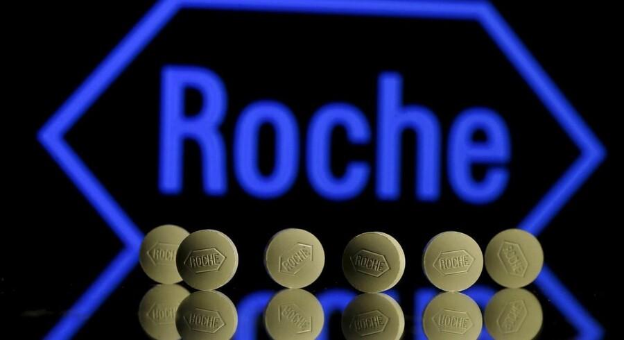 Roche køber de resterende aktier i det amerikanske biotekselskab Foundation Medicine for et beløb på 2,4 mia. dollar, rapporterer Bloomberg News. REUTERS/Dado Ruvic/File Photo