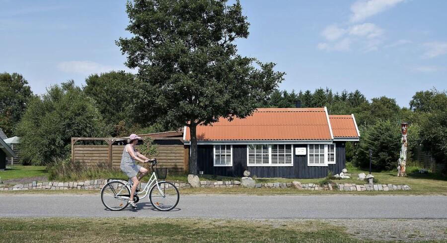 Bundfradraget for sommerhusudlejning hæves fra 21.900 til 40.000 kroner. Det skal få flere til at udleje. (Foto: Henning Bagger/Scanpix 2016)