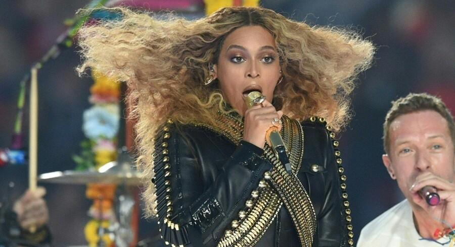 Antallet af afspilninger af Beyonces album Lemonade er ifølge Dagens Næringsliv blevet manipuleret af streamingtjenesten Tidal. Scanpix/Timothy A. Clary
