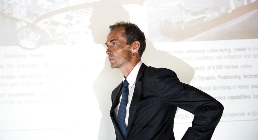 ARKIVFOTO. NKT Holdings bestyrelsesformand Jens Due Olsen. (Foto: Søren Bidstrup/Scanpix 2016)