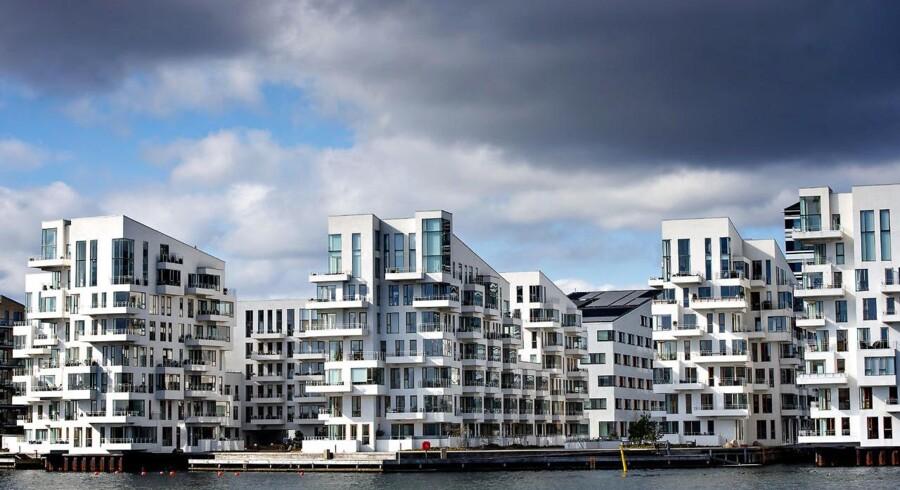 Mange nye lejligheder i København ligger i et højt prisleje. Her er det lejligheder i Sydhavnen. Havneholmen.