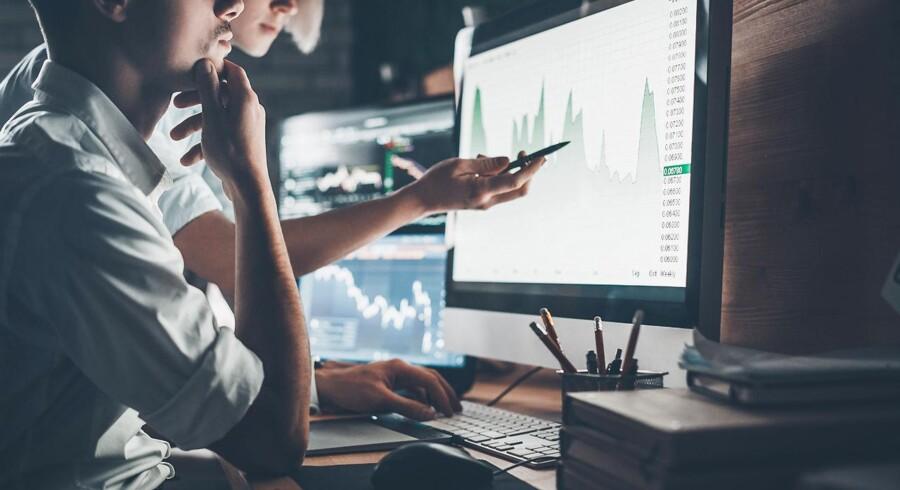 De finansielle markeder er kommet godt fra start i 2018. Foto: Iris.
