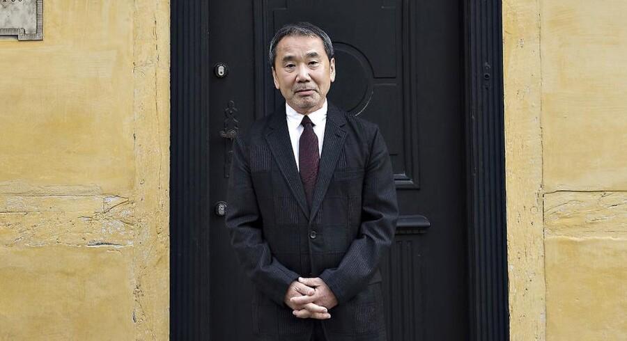 ARKIVFOTO: Søndag d. 30. oktober modtog den japanske forfatter Haruki Murakami H.C. Andersen Prisen 2016.