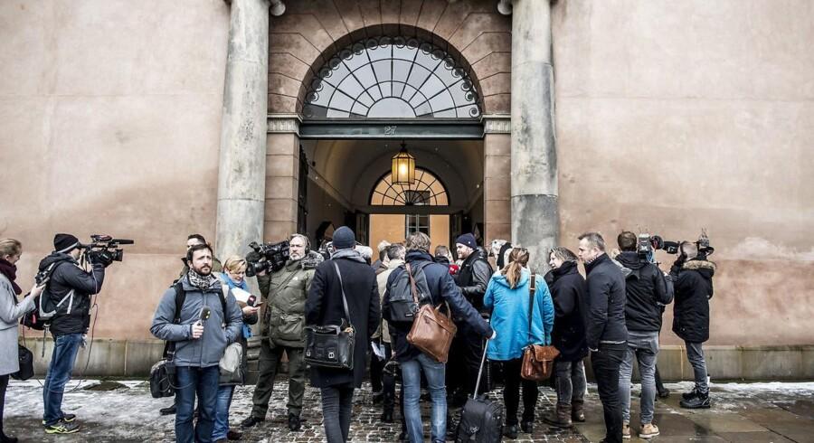 Sagen mod Peter Madsen er begyndt i dag ved Københavns Byret. (Foto: Mads Claus Rasmussen/Scanpix 2018)