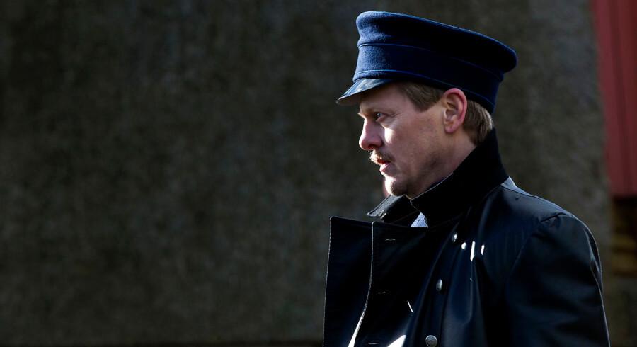 Thure Lindhart er en af stjernerne i storfilmen »I Krig og Kærlighed«, der bliver den første danske spillefilm om Første Verdenskrig