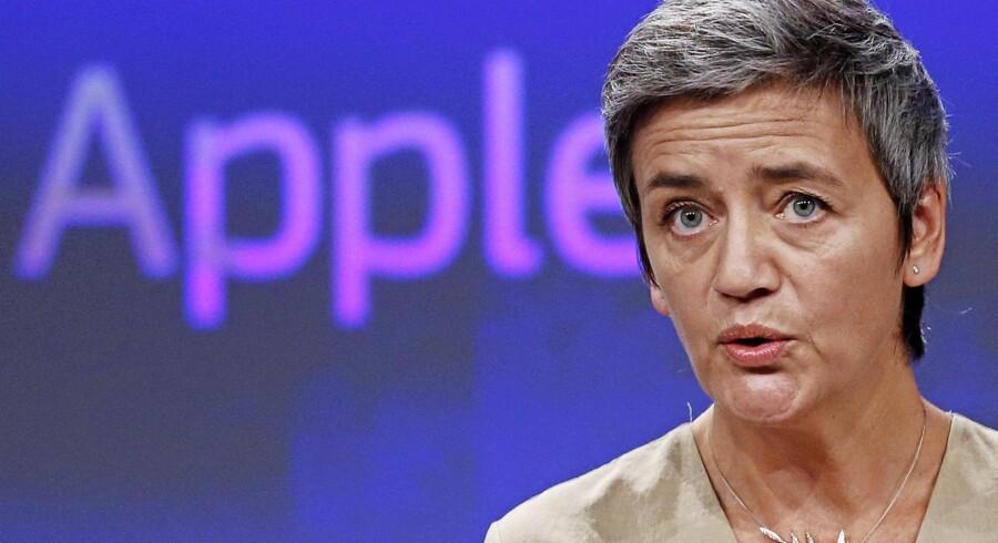 EUs konkurrencekommissær Margrethe Vestager. Foto: Francois Lenoir/Reuters