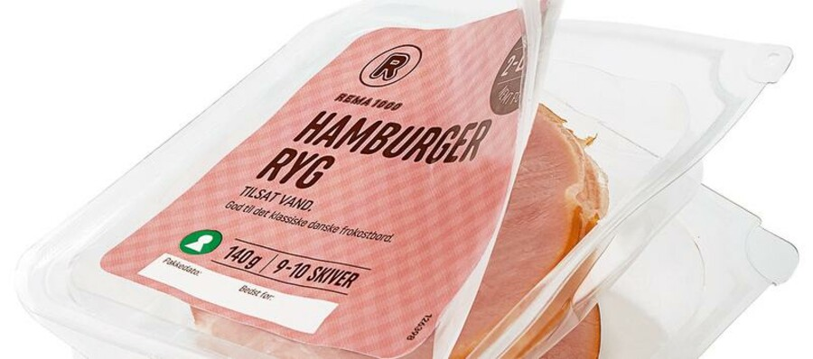 Et af REMA 1000's seneste tiltag mod madspild er en todelt emballage til pålæg, som holder varen frisk i længere tid. Foto: REMA 1000