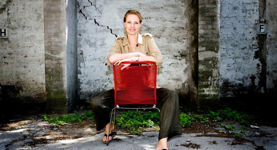 Sille Lundquist, tidligere supermodel.