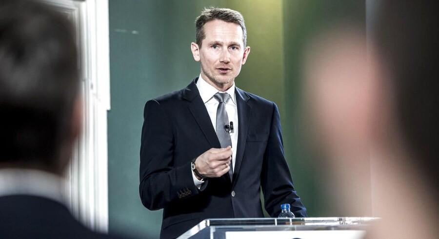 Finansminister Kristian Jensen (V) fremlægger i slutningen af august regeringens finanslovsforslag.