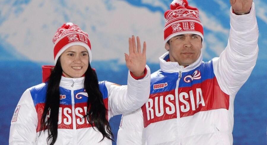 Den Internationale Olympiske Komité udelukker 11 russere for deres dopingforseelser under vinter-OL i 2014.