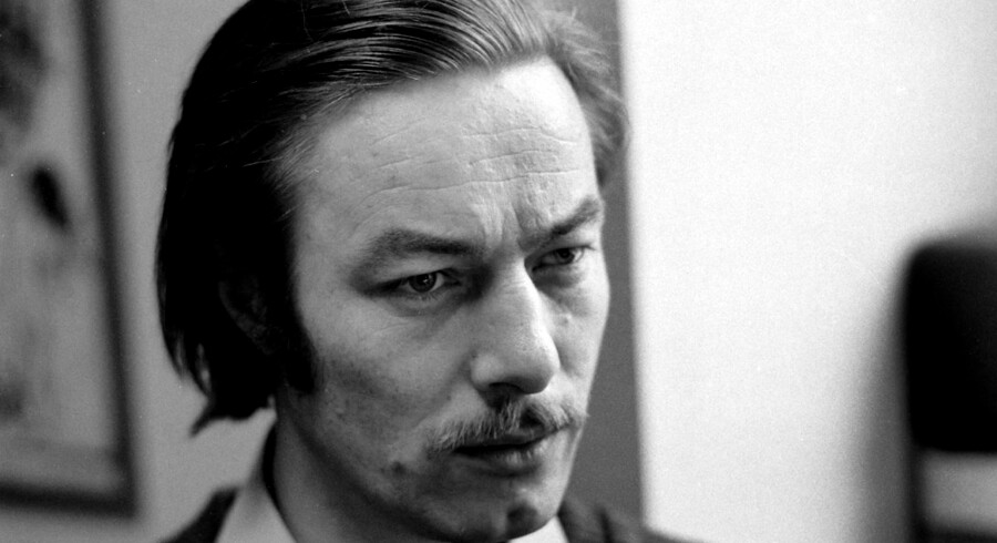 (ARKIV) Baard Owe 8. oktober 1973. Skuespiller og kunstner Baard Owe er død - 81 år skriver BT mandag 13. november 2017. (Foto: Erik Holmberg/Scanpix 2017)