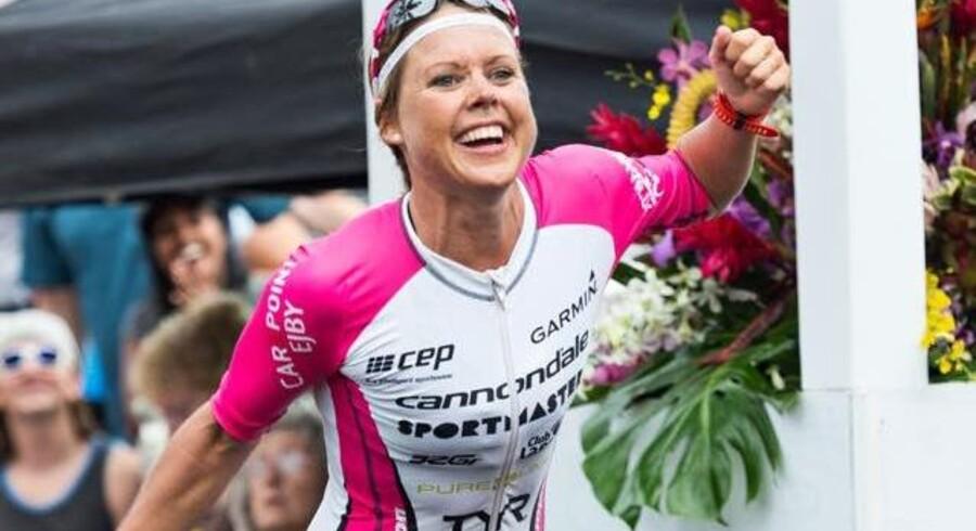 Michelle Vesterby går efter medalje om godt tre uger. Free