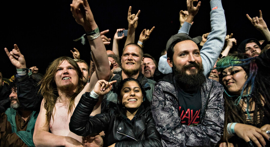 Slayer spiller på Copenhell 2017, lørdag den 24. juni 2017.. (Foto: Ida Guldbæk Arentsen/Scanpix 2017)