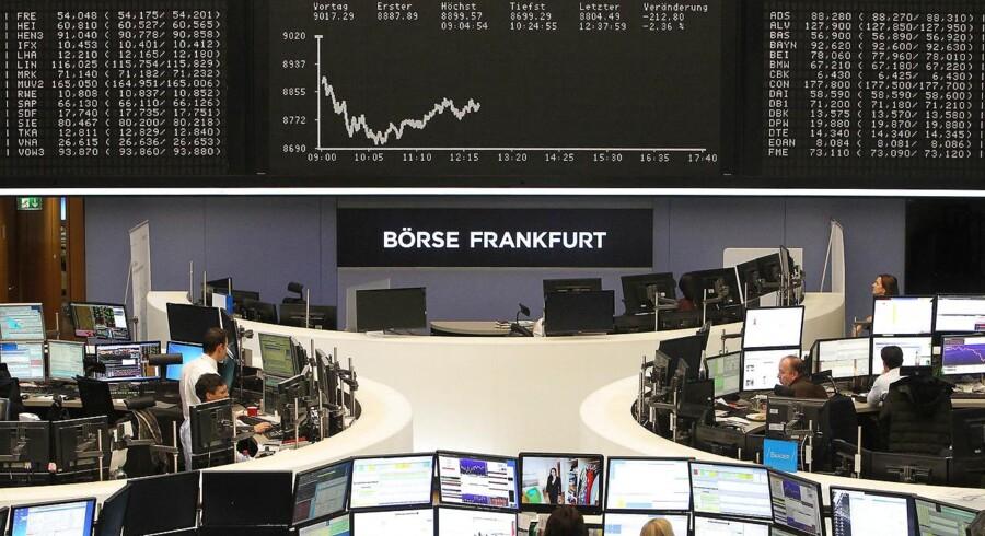 Det er profithjemtagning, der er i centrum på de europæiske aktiemarkeder onsdag, hvor investorerne tager et skridt tilbage efter kursfremgang mandag og tirsdag.