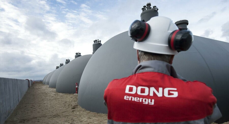 Energigiganten DONG Energy skal børsnoteres på fondsbørsen i København og har første handelsdag i dag. (Foto: Claus Fisker/Scanpix 2016)