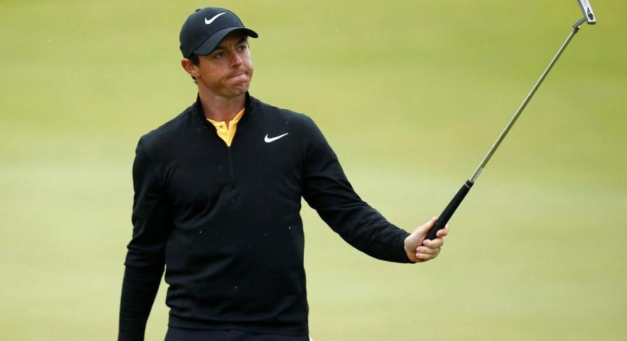 McIlroy sluttede på en delt fjerdeplads i British Open i juli og roste under majorturneringen J.P. Fitzgerald for at sætte ham på plads efter en dårlig start.