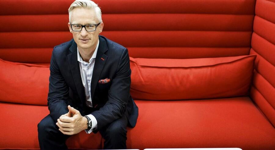 Trygs topchef, Morten Hübbe, glæder sig over, at selskabet i første kvartal 2016 har formået at skabe et resultat før skat, der er ca. 110 mio. kr. højere end analytikernes forventninger.