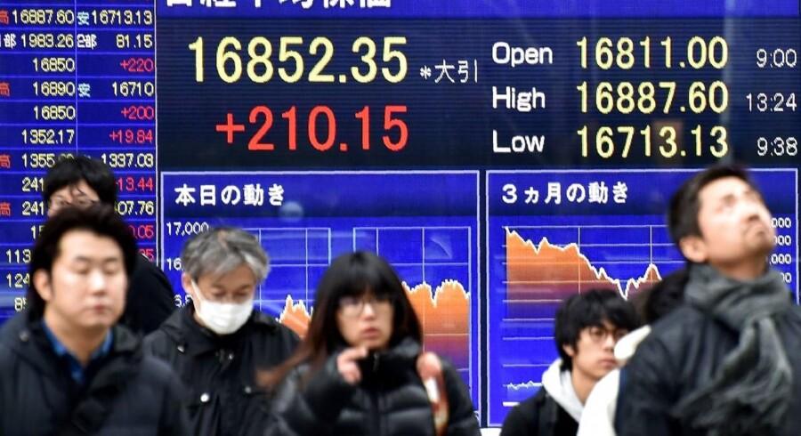 De fjernøstlige aktiemarkeder er kommet godt fra start i den ny uge.