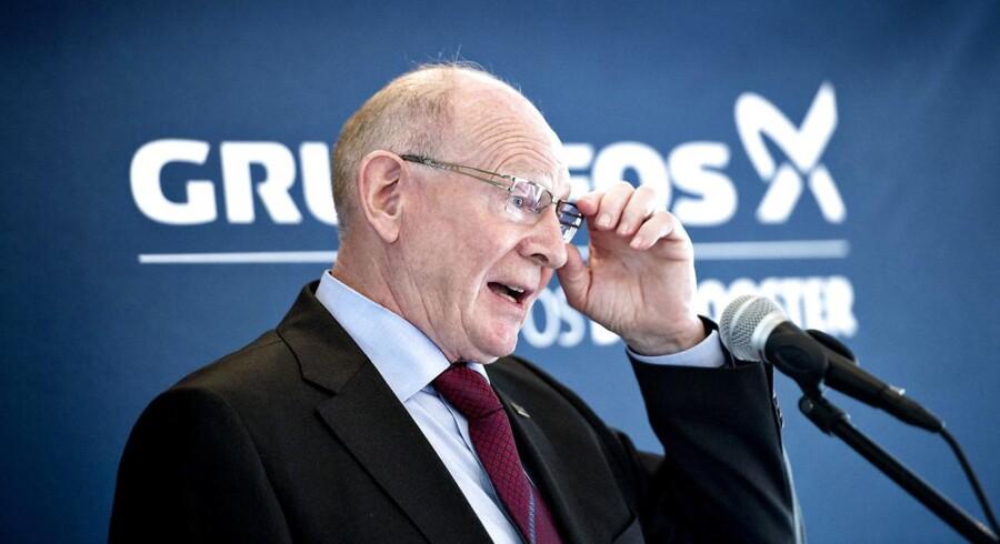 Pumpegiganten Grundfos præsenterer i dag regnskab for 2015. (Foto: Keld Navntoft/Scanpix 2014)