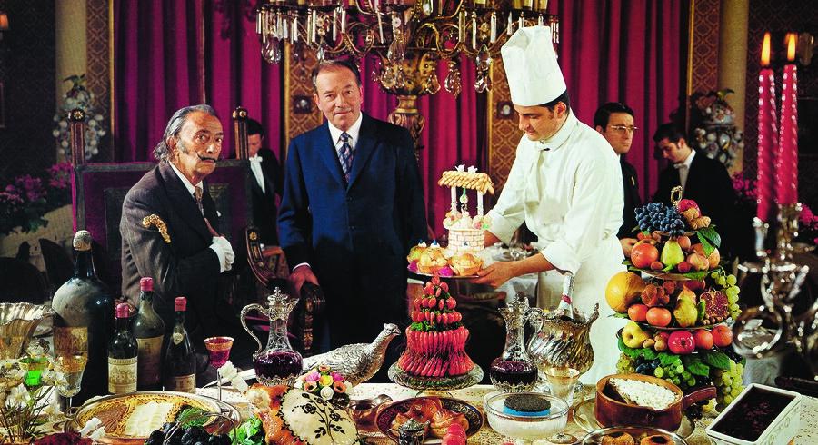 Salvador Dalí var berømt for at tegne på sine checks, når han var på restaurant – så blev de nemlig sjældent indløst.