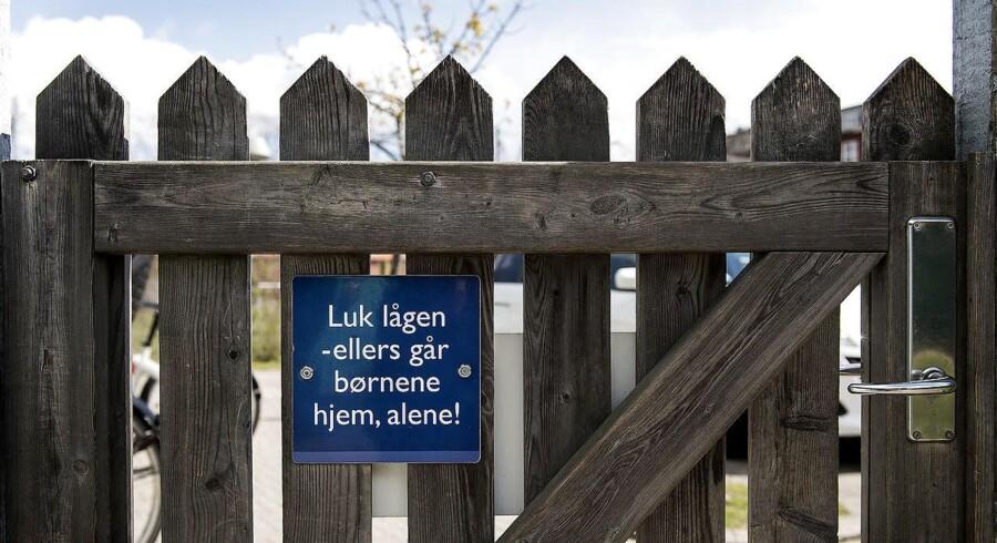 Sidste år modtag politiet i Aarhus en henvendelse om et barn, der forsvandt fra børnehaven.