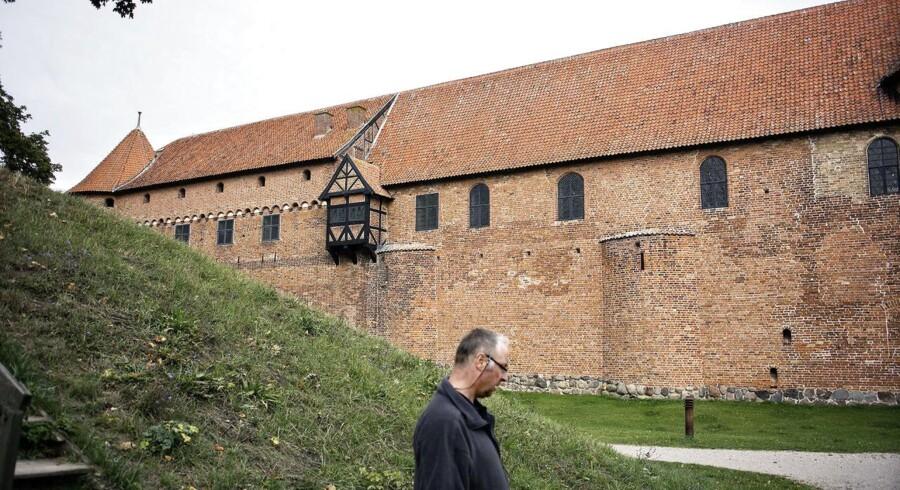 Nyborg Slot og parken omkring.