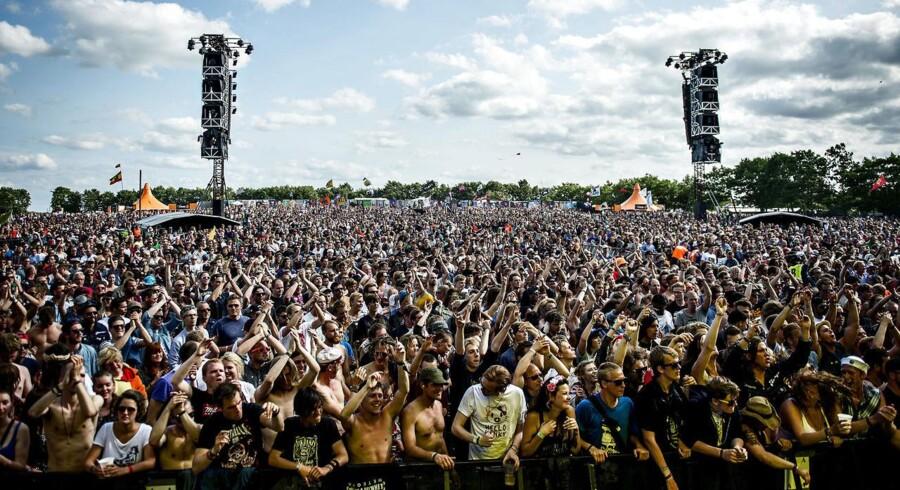 Orange Scene, Roskilde Festival 2013.