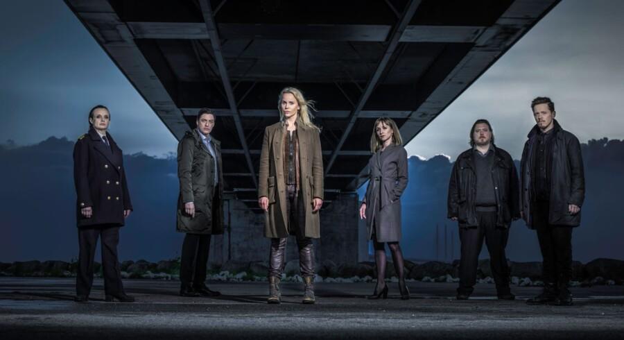 TV-serien Broen. Foto: C More
