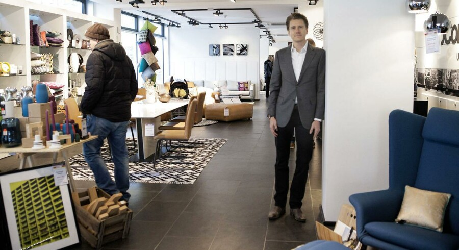 I dag offentliggør den danske møbelkæde Boconcept halvårsregnskab for 2015/16. Sidste efterår igangsatte virksomheden Horizon 16/17, som er en gennemgribende evaluering af selskabets forretningsmodel og forretningskoncept. Her ses Allan Mølholm, som opstartede forretningen i München