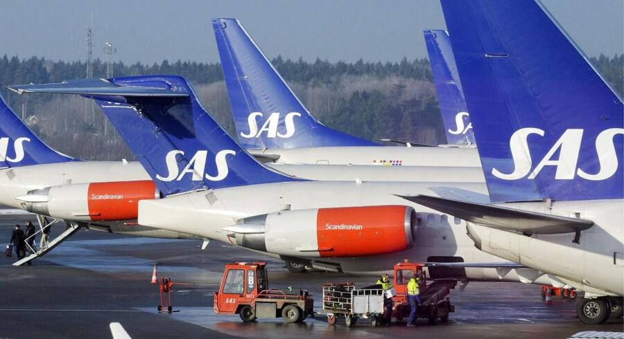 Tekniske problemer lammer flytrafikken i Arlanda Lufthavnen i Stockholm. Foto: Scanpix Sweeden