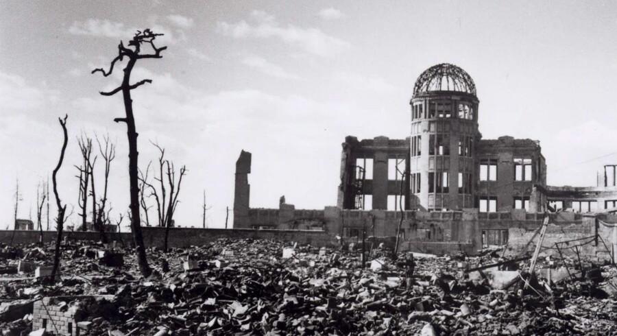 Ruinerne efter Hiroshima-bomben – var de forgæves? En fremtrædende amerikansk atomanalytiker sætter spørgsmålstegn ved, om A-bomberne over Japan afsluttede 2. Verdenskrig.