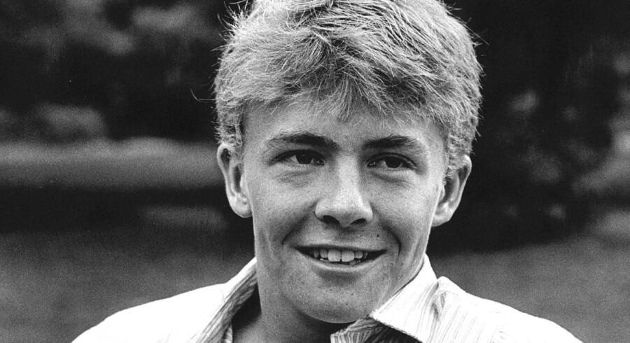 Prins Johan Friso i Haag, august 1986.