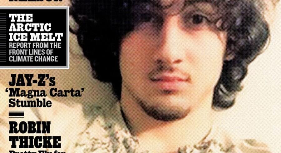 Rolling Stone magazine har en af de to Boston-bombere, Dzhokhar Tsarnaev, på forsiden af sit seneste nummer, hvilket har givet bladet en del kritik.