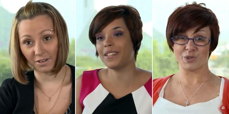Amanda Berry, Gina DeJesus og Michelle Knight, som de ser ud på Youtube-videoen, som du kan se længere nede i artiklen.
