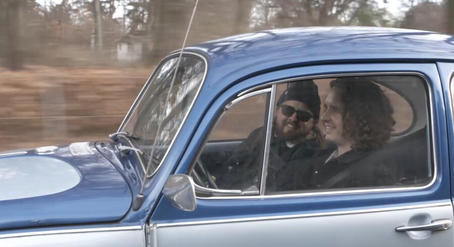 Pressefoto: Magnus og Emil Millang